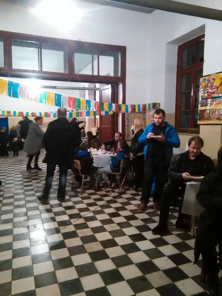 Αποκριάτικη εκδήλωση… παρά τη βροχή στο Μεγαλόβρυσο (ΦΩΤΟ)