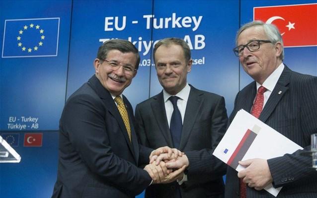 Τα σημεία – κλειδιά στη συμφωνία Ε.Ε. – Τουρκίας