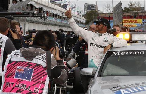 Ο Χάμιλτον την πρώτη pole position της χρονιάς