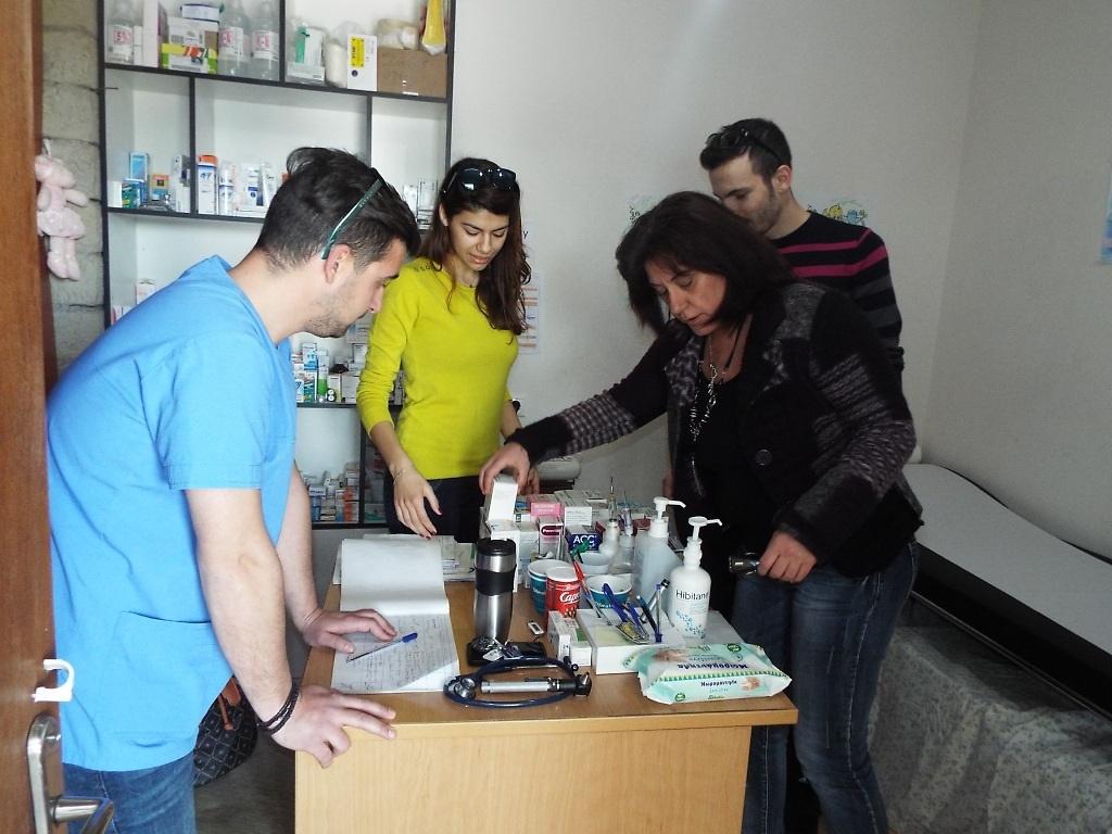 Ιατρείο προσφοράς στα Τρίκαλα