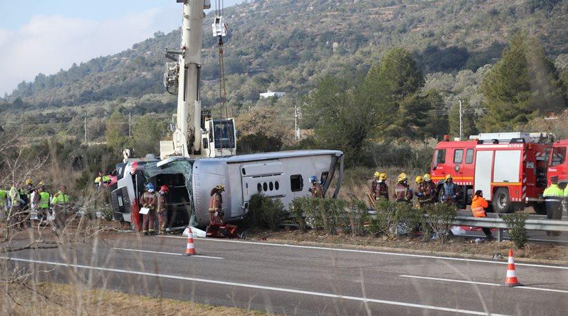 13 νεκροί σε τροχαίο με λεωφορείο, φοιτητές Erasmus στα θύματα
