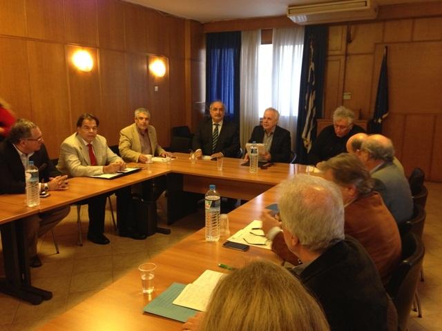 Σύσκεψη για τα προβλήματα της αγελαδοτροφίας