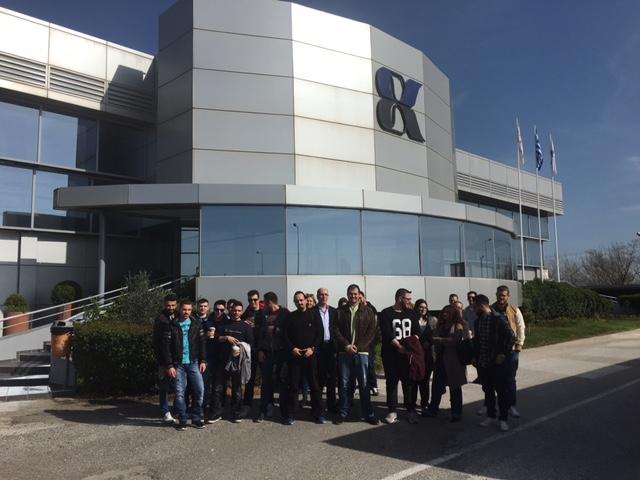 Eπίσκεψη του ICBS στην EXALCO