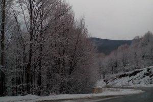 Χιόνισε στα ορεινά των Τρικάλων