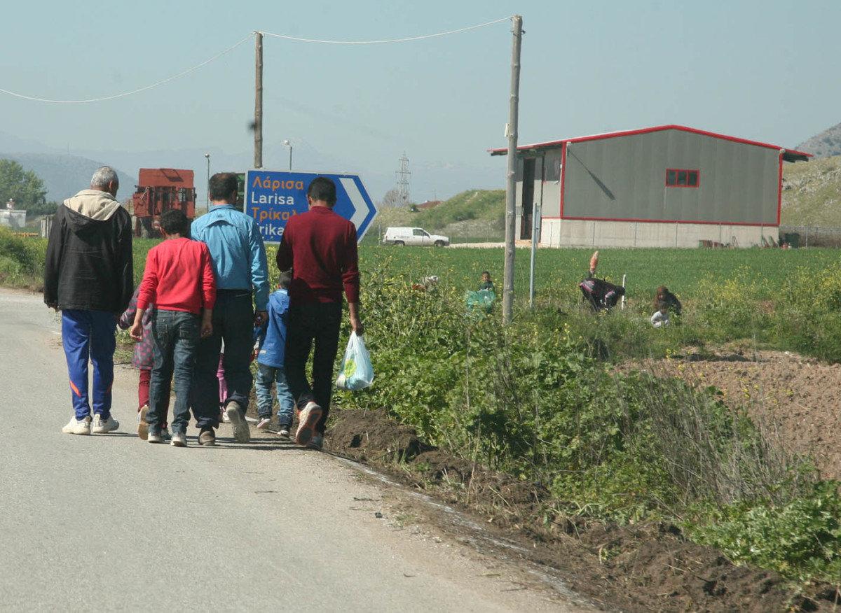 Συμπλοκή μεταναστών στο Κουτσόχερο
