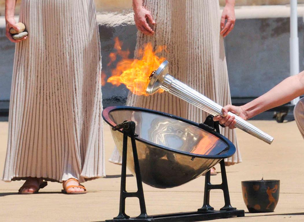 Υποδοχή της Ολυμπιακής Φλόγας την  Κυριακή στη Λάρισα