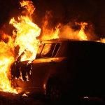 Αυτοκίνητο κάηκε εν κινήσει…