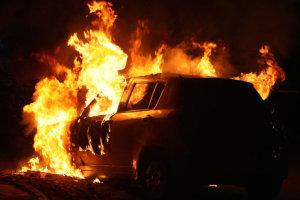 «Λαμπάδιασε» αυτοκίνητο στο Δαμάσι