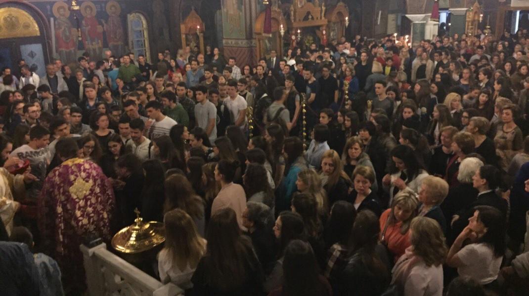 Παρακλήσεις για τους μαθητές στον Άγιο Αχίλλιο
