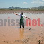 Νέες εικόνες & video από τις πλημμύρες στα Φάρσαλα