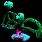 «Το βατραχάκι» και κουκλοπαιχνίδια στο Μύλο του Παππά
