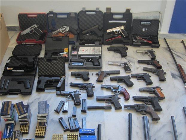 Μπαράζ συλλήψεων στην Κρήτη για υπόθεση όπλων και πυρομαχικών
