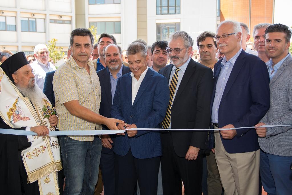 Εγκαινιάστηκε το κτίριο – κόσμημα της Βιοχημείας στη Λάρισα