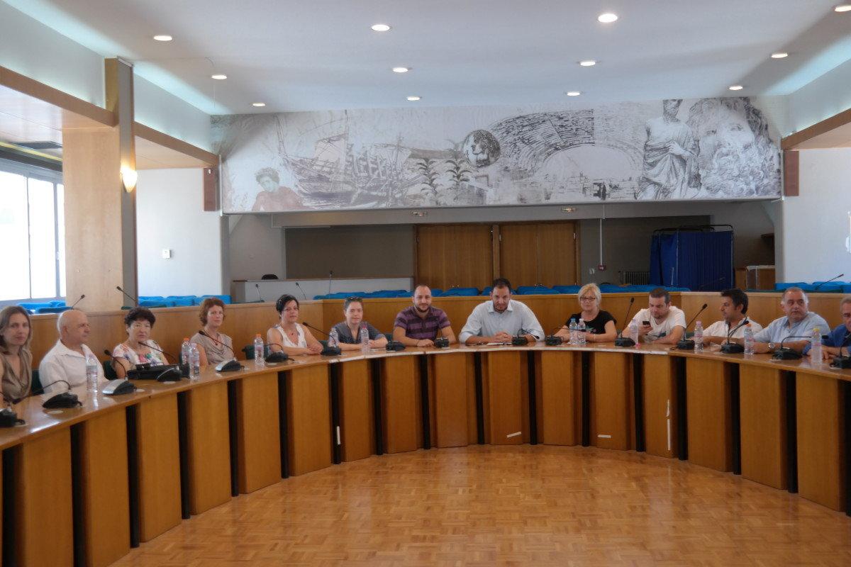 Συνάντηση εργασίας για αμοιβαίο τουρισμό ενηλίκων