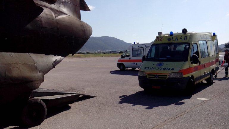 Αεροδιακομιδή 5χρονης τραυματία από την Αλόννησο στην Ν. Αγχίαλο