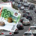 Αμετάβλητα τα τέλη κυκλοφορία για τα νεώτερα αυτοκίνητα