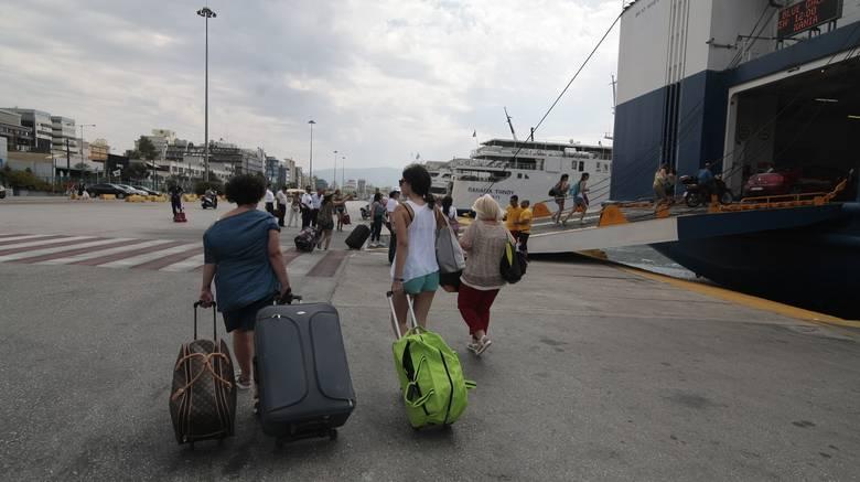 Αυξημένη η κίνηση στα λιμάνια λόγω Δεκαπενταύγουστο