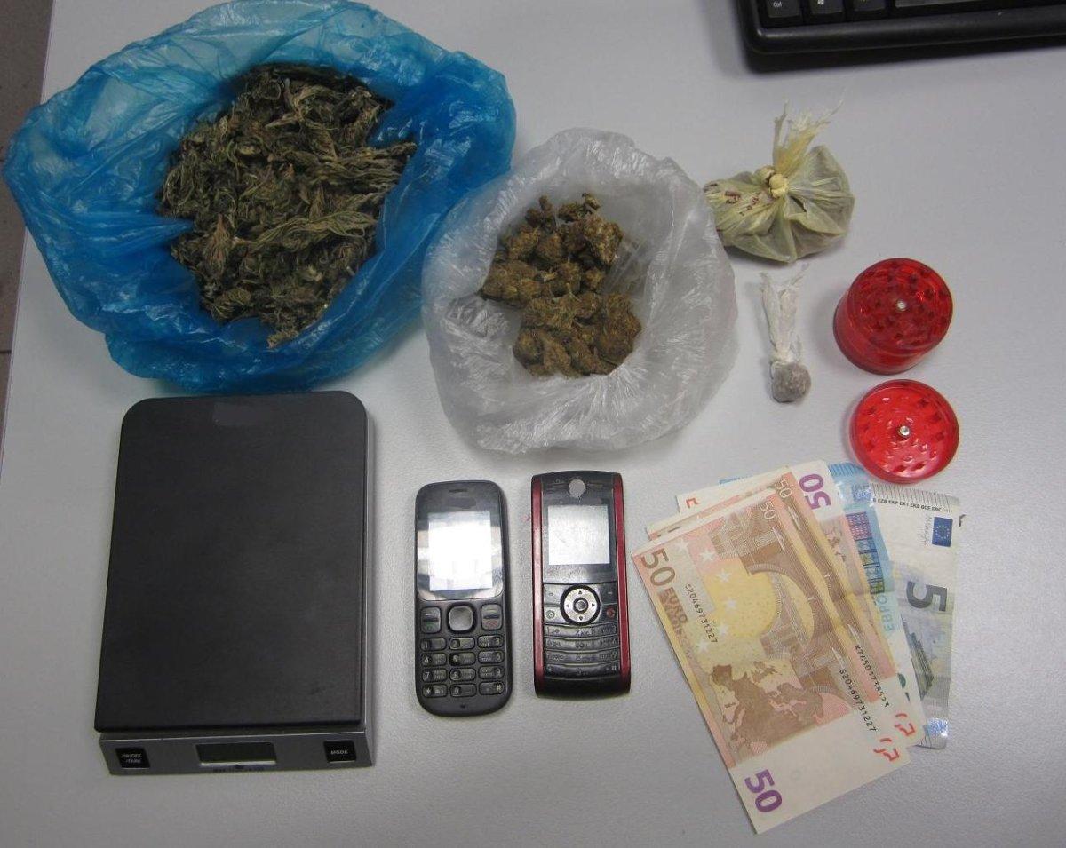 Μπαράζ συλλήψεων για ναρκωτικά