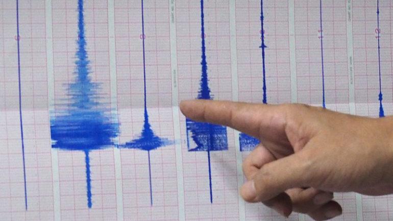 Σεισμός 4,5 Ρίχτερ νοτιοανατολικά της Ρόδου