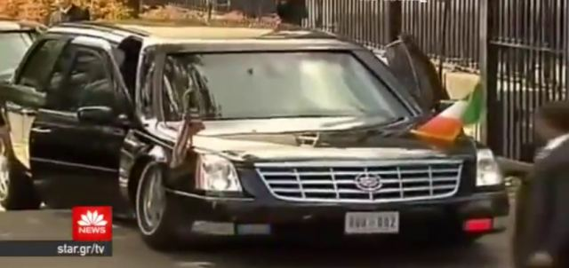 Tο τεθωρακισμένο «θηρίο» που μεταφέρει τον Μπαράκ Ομπάμα