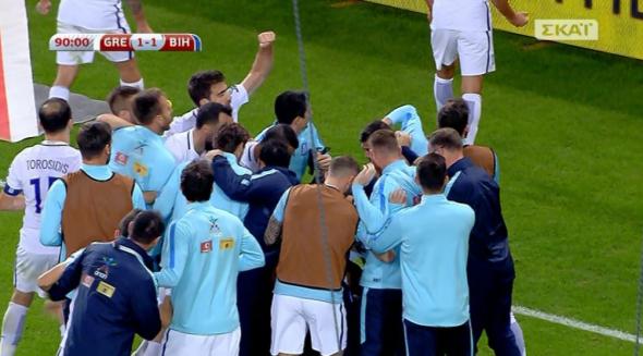 Ο Τζαβέλλας λύτρωσε την Εθνική, «χρυσό» 1-1 με Βοσνία (video)