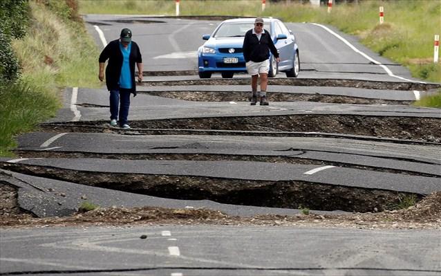 Ν. Ζηλανδία: Στα 2 δισ. δολάρια το ύψος των ζημιών από το σεισμό των 7,8 Ρίχτερ
