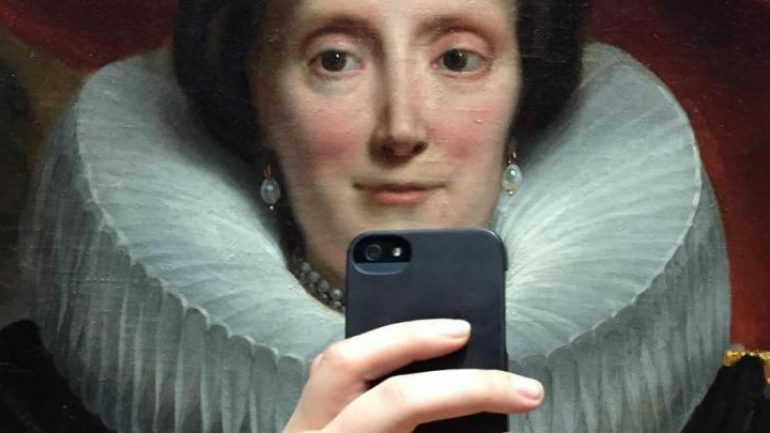 Selfies, η μάστιγα των μουσείων…