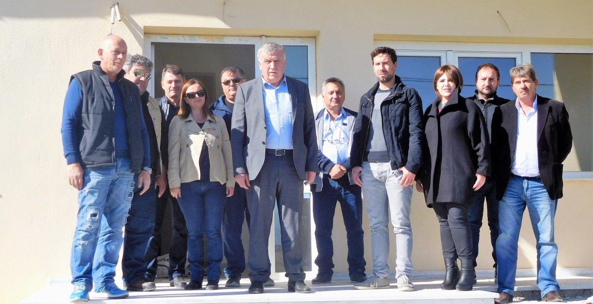 Εργασίες στο Περιφερειακό Ιατρείο Αρμενίου
