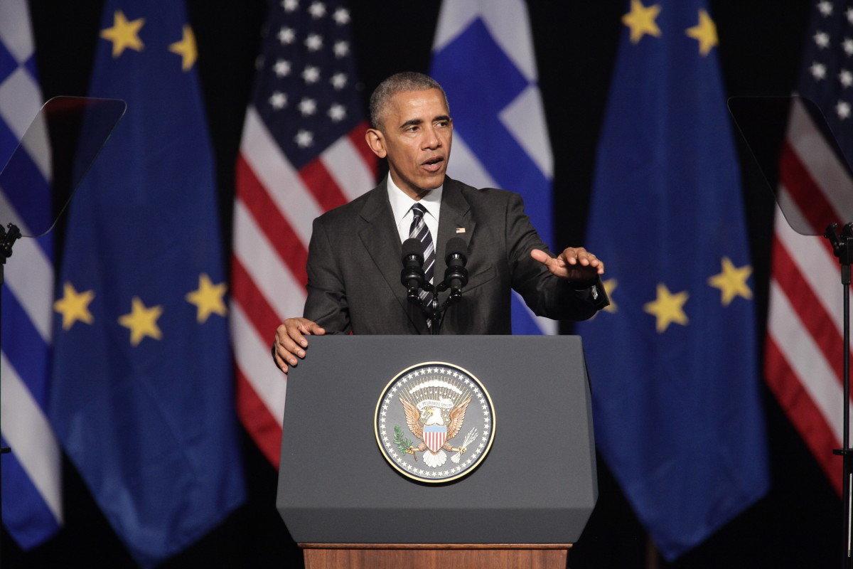 Παρακαταθήκη για τη Δημοκρατία η ομιλία Ομπάμα στην Αθήνα