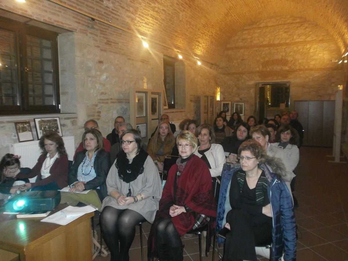 Εκπαιδευτικοί στο Μουσείο Εθνικής Αντίστασης Λάρισας