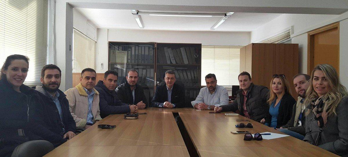 Συνάντηση Κωτσού με υποψήφιους της ΔΚΜ