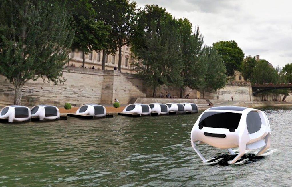 Έρχονται τα πρώτα ιπτάμενα ταξί!