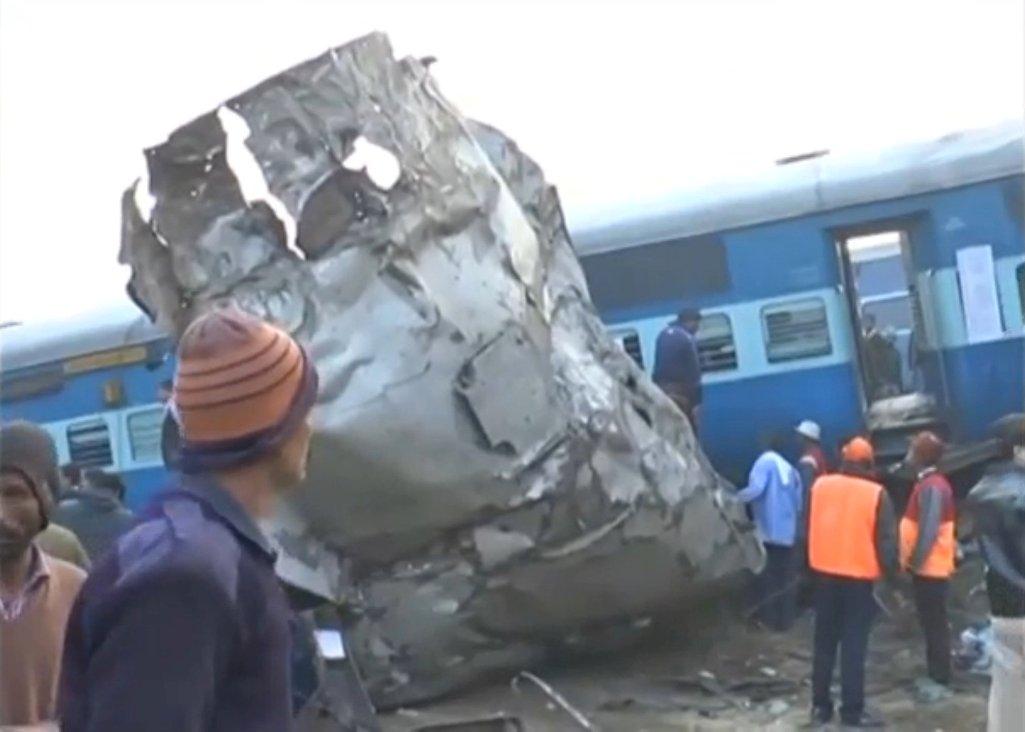 Ινδία: Στους 107 οι νεκροί από τον εκτροχιασμό τρένου