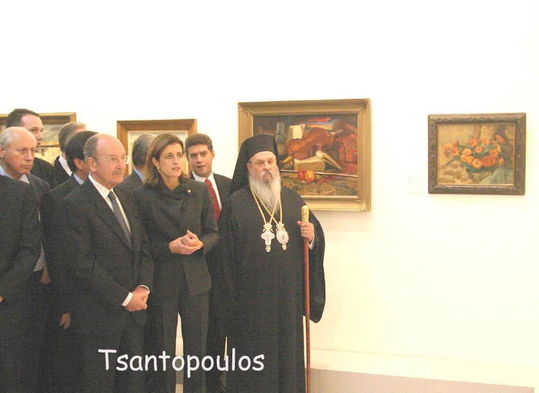 Όταν ο Κ. Στεφανόπουλος εγκαινίαζε την Πινακοθήκη (ΦΩΤΟ)