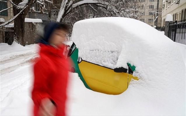 Στους -34 βαθμούς Κελσίου το θερμόμετρο στο Καζακστάν