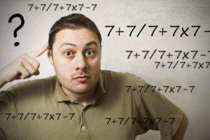 Δεν θα το βρείτε με τίποτα: Πόσο κάνει 7+ 7 : 7 + 7 x 7 – 7;