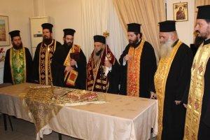 Αγιοβασιλόπιττα στο γηροκομείο «Παναγία η Αρμενιώτισσα»