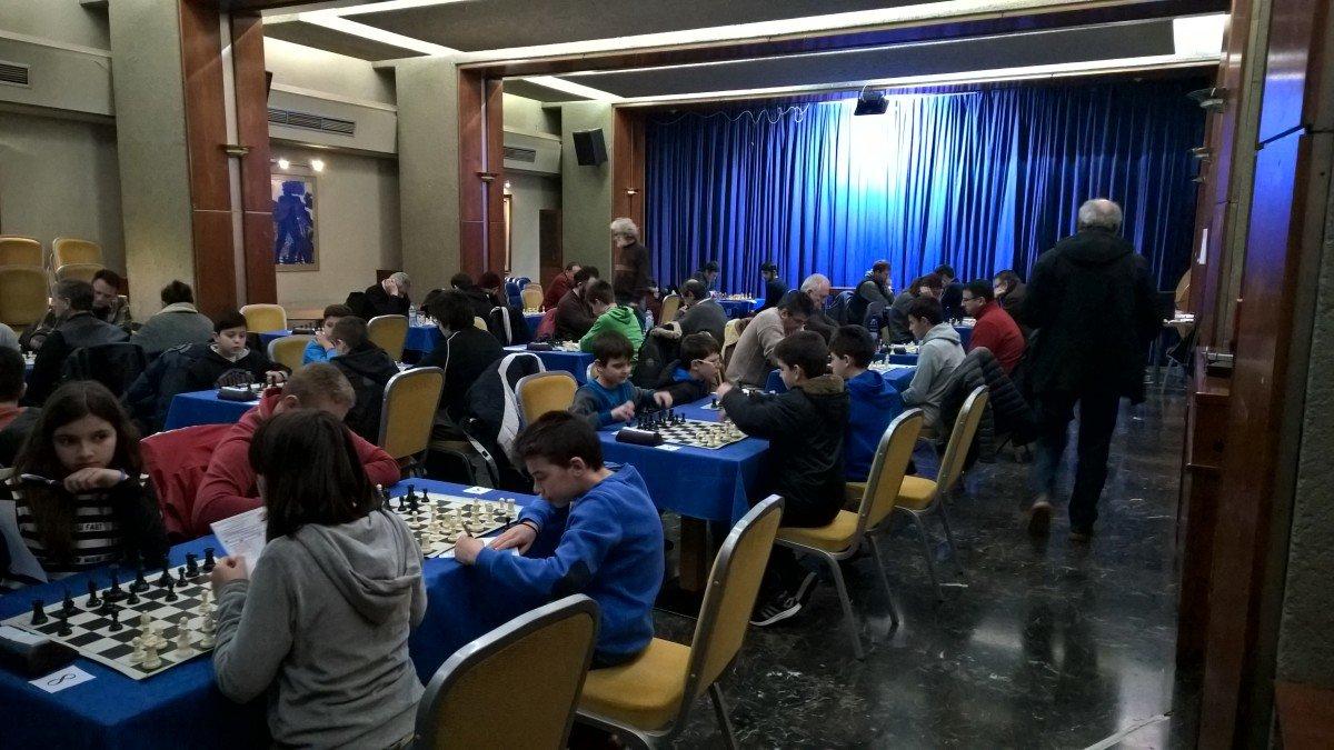 Ολοκληρώθηκαν οι αγώνες σκακιού