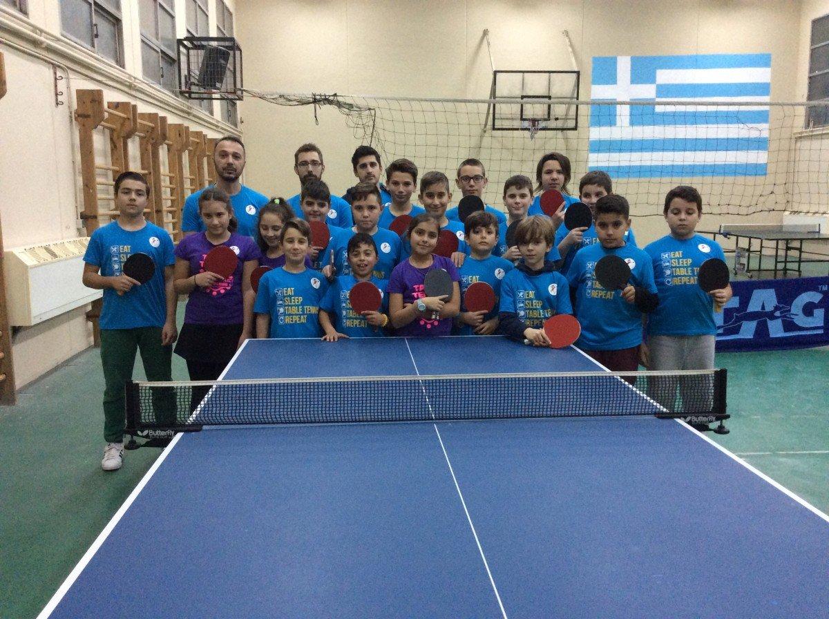Τουρνουά πινγκ πονγκ για μικρούς και μεγάλους στη Λάρισα