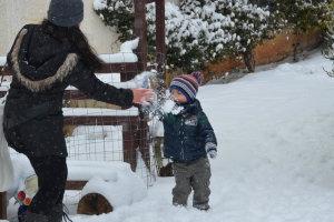 Οδοιπορικό στη χιονισμένη Λάρισα…