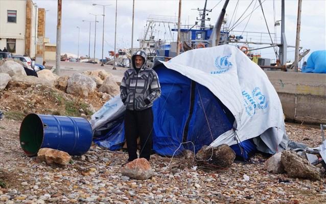 ΜΚΟ: Οι πρόσφυγες και μετανάστες κινδυνεύουν από τη κακοκαιρία