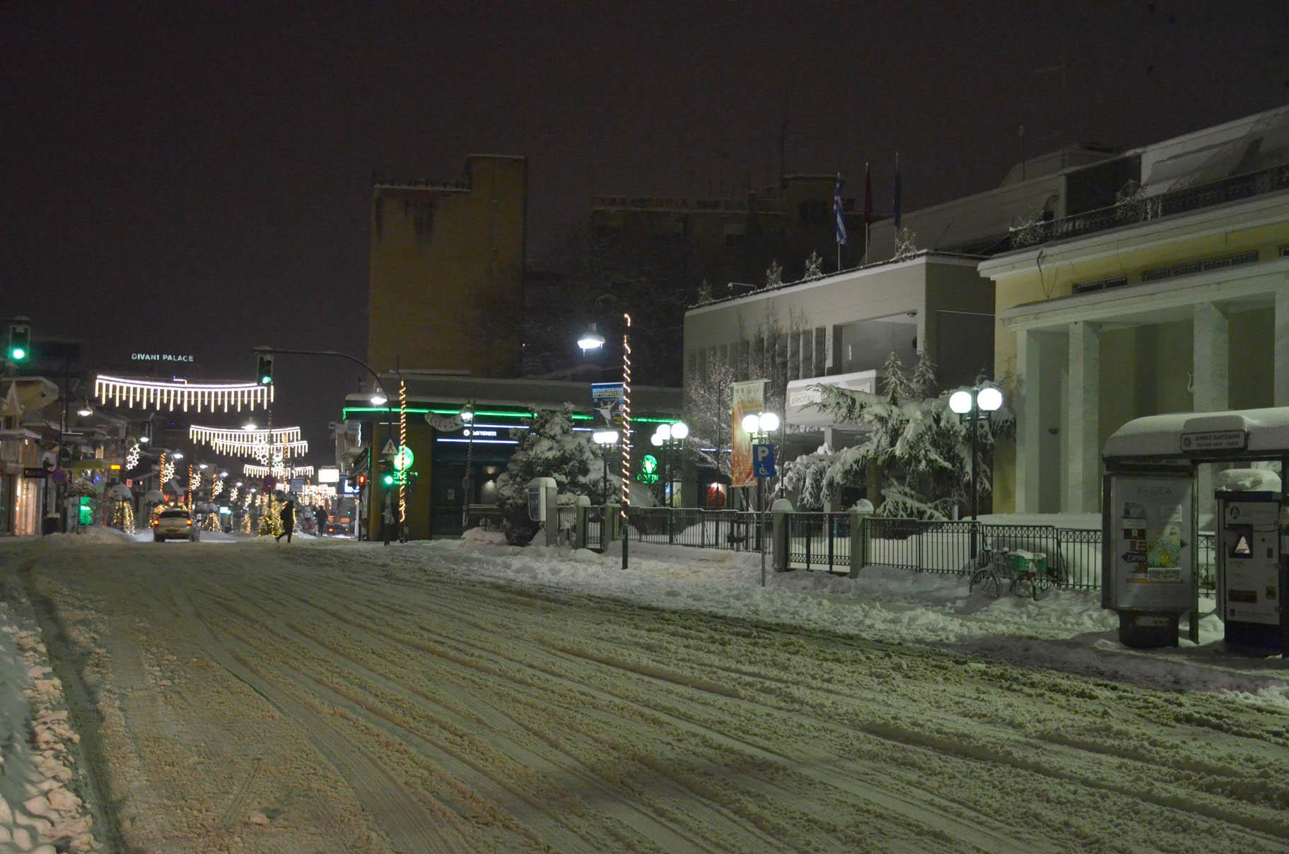 Λαρισα χιονι (8)