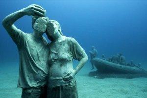 Το πρώτο υποβρύχιο μουσείο γλυπτών στην Ευρώπη