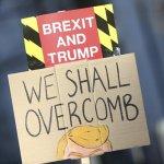 Με κεντρικό σύνθημα «Να διώξουμε τον Τραμπ» η διαδήλωση στο Λονδίνο
