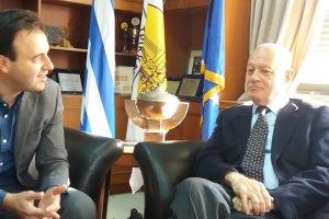 Στα Τρίκαλα ο υπουργός Οικονομικών