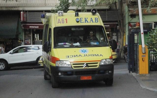 Τροχαίο στον Τύρναβο με δύο τραυματίες