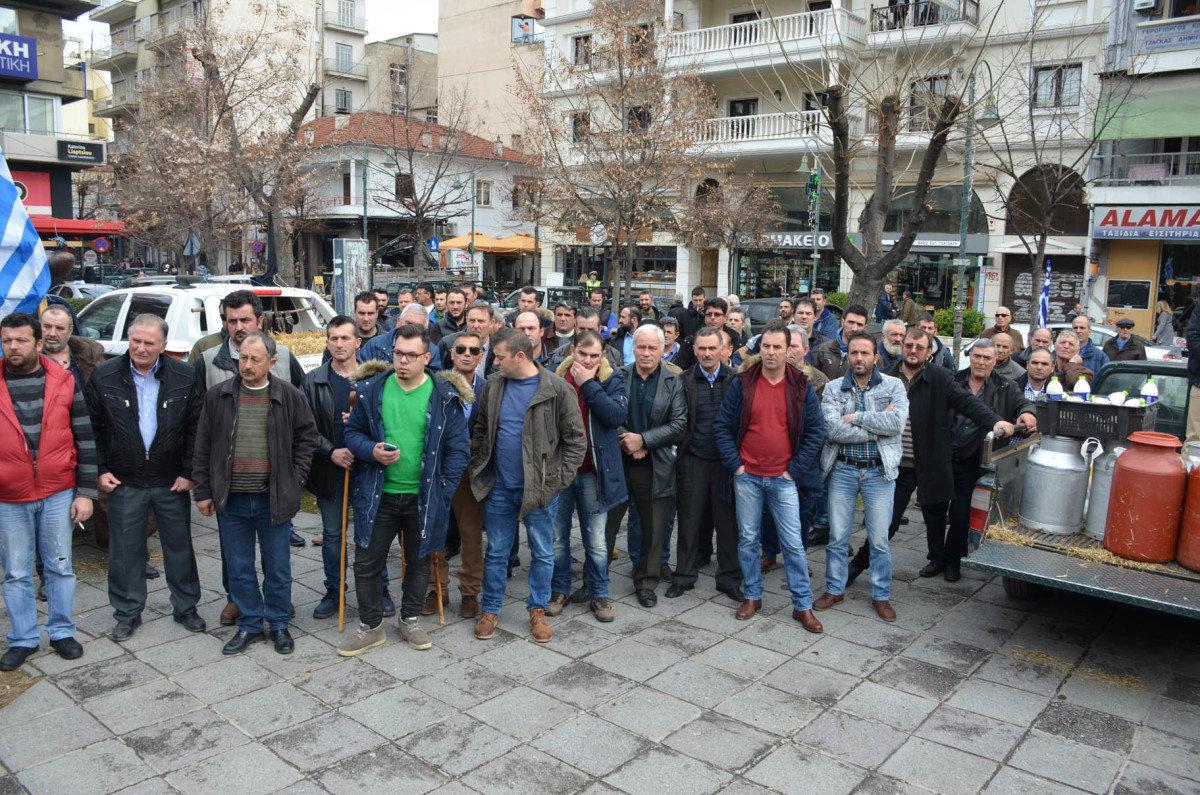 Πανελλήνιο συλλαλητήριο κτηνοτρόφων σήμερα στη Λάρισα