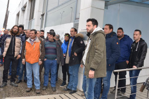 Στον ΕΛΓΑ διαμαρτύρονται σήμερα παραγωγοί της Αγιάς