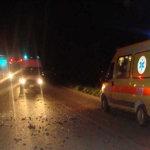 Τροχαίο ατύχημα τη νύχτα έξω από τη Λάρισα