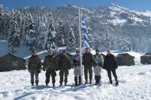 Οι Έφ. Αξιωματικοί της Θεσσαλίας στο σχολείο χειμερινής διαβίωσης της ΣΜΥ (φωτό)
